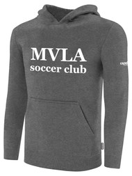MVLA BASICS FLEECE PULLOVER HOODIE -- DARK HEATHER GREY -- IS ON BACK ORDER, WILL SHIP BY 2/8/21