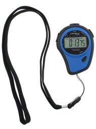 FITNESS STOPWATCH W LANYARD  -- BLACK