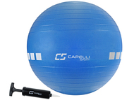 FITNESS 55CM EXERCISE BALL -- BLUE