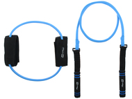 FITNESS RESISTANCE BAND KIT -- BLUE COMBO