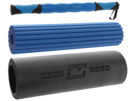 FITNESS MASSAGE SET -- BLUE COMBO