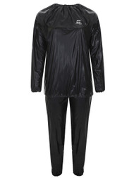 FITNESS SAUNA SUIT -- BLACK