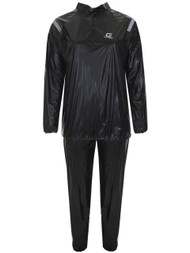 FITNESS DELUXE SAUNA SUIT -- BLACK