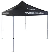 MVLA MERCH TENT 10 FT x 10 FT--   BLACK WHITE