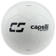 MVLA CS FUSION MACHINE STITCHED SOCCER BALL  -- WHITE BLACK