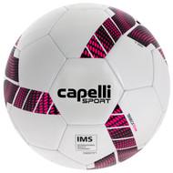 MVLA CAPELLI SPORT TRIEBCA MACHINE STITCHED SOCCER BALL --WHITE NEON PINK BLACK