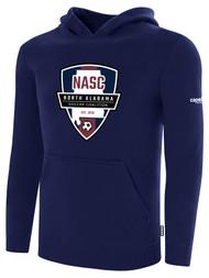 NASC BASICS HOODIE W/ SFC SHIELD LOGO -- NAVY