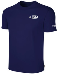 RUSH NEW ENGLAND SHORT SLEEVE TEE SHIRT -- NAVY