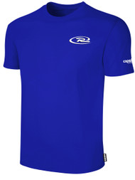 RUSH NEW ENGLAND SHORT SLEEVE TEE SHIRT -- ROYAL BLUE