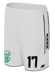 ROCHESTER JUNIOR RHINOS  SPARROW  MATCH SHORTS -- WHITE  BLACK -- PRODUCT WILL BE AVAILABLE ON  1/1/2019