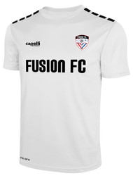 FUSION FC CS ONE SHORT SLEEVE TRAINING JERSEY -- WHITE