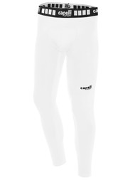FUSION FC BOYS AND MEN PERFORMANCE TIGHTS -- WHITE BLACK