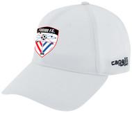 FUSION FC CS II TEAM BASEBALL CAP -- WHITE BLACK