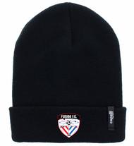 FUSIONC FC II CUFF KNIT BEANIE -- BLACK
