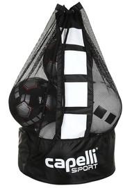 NORTH ALABAMA SMALL BALL BAG- FITS 10-12 INFLATED BALLS   --   BLACK   WHITE