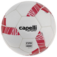 NORTH ALABAMA TRIBECA COMPETITION FIFA QUALITY THERMAL BONDED SOCCER BALL -- WHITE RED