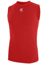 CS COOL SLEEVELESS COMPRESSION SHIRT  -- RED