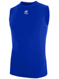 CS COOL SLEEVELESS COMPRESSION SHIRT  -- ROYAL BLUE