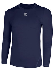 CS COOL LONG SLEEVE COMPRESSION SHIRT  --  NAVY