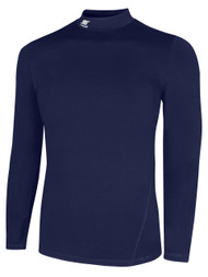 CS  WARM LONG SLEEVE COMPRESSION SHIRT WITH  TURTLENECK -- ELITE NAVY      $30 - $32