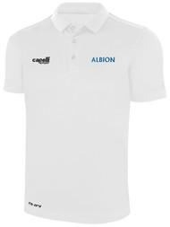ALBION SC® SAN DIEGO CLASSICS POLY POLO -- WHITE BLACK