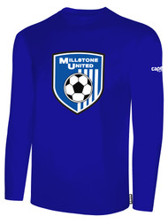 MILLSTONE UNITED LONG SLEEVE T-SHIRT - ROYAL BLUE