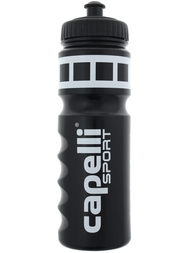 WATER BOTTLE WITH LIQUID MEASUREMENT -- BLACK WHITE