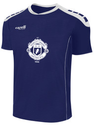 NORTH UNION CONDOR II SHORT SLEEVE MATCH JERSEY -- NAVY WHITE  --  YS, AS ARE ON BACK ORDER, WILL SHIP BY 10/4