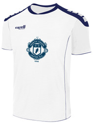 NORTH UNION CONDOR II SHORT SLEEVE MATCH JERSEY -- WHITE NAVY  --  YS, AS, WXS, WL ARE ON BACK ORDER, WILL SHIP BY 10/4