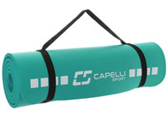 FUSION FC FITNESS MAT -- TEAL COMBO