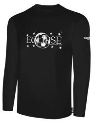 ECLIPSE SELECT ILLINOIS BASICS COTTON LONG SLEEVE T-SHIRT -- BLACK WHITE