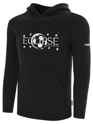 ECLIPSE SELECT ILLINOIS BASICS FLEECE PULLOVER HOODIE -- BLACK WHITE