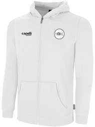 ECLIPSE SELECT ILLINOIS BASICS FLEECE FULL ZIP HOODIE -- WHITE BLACK