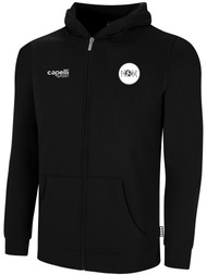 ECLIPSE SELECT ILLINOIS BASICS FLEECE FULL ZIP HOODIE -- BLACK WHITE