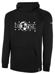 ECLIPSE SELECT ILLINOIS LIFESTYLE THERMA FLEECE HOODIE -- BLACK WHITE  --  IS ON BACK ORDER, WILL SHIP BY 11/15