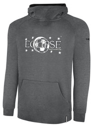 ECLIPSE SELECT ILLINOIS LIFESTYLE THERMA FLEECE HOODIE -- DARK HEATHER GREY BLACK  --  IS ON BACK ORDER, WILL SHIP BY 11/15
