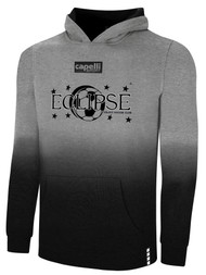 ECLIPSE SELECT ILLINOIS LIFESTYLE FRENCH TERRY DIP DYED HOODIE  -- LIGHT HEATHER GREY BLACK