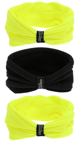 3 PACK SEAMLESS TWISTERS   --  NEON YELLOW