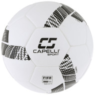 KC COMETS CS TRIBECA PRO ELITE FIFA QUALITY PRO SOCCER BALL-- WHITE BLACK