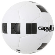 KC COMETS 4 CUBE CLASSIC COMPETITION ELITE FIFA QUALITY THERMAL BONDED SOCCER BALL -- WHITE BLACK