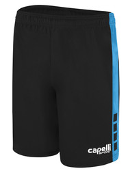 NEXT GENERATION TEAM I MATCH SHORTS -- BLACK SKY BLUE
