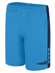 NEXT GENERATION TEAM I MATCH SHORTS -- SKY BLUE NAVY