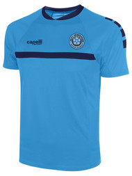 NEXT GENERATION SPARROW SHORT SLEEVE TRAINING TOP -- SKY BLUE NAVY