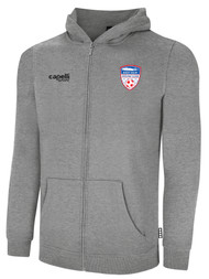 EAST ISLIP SLAMMERS FLEECE ZIP UP HOODIE -- LIGHT HEATHER GREY
