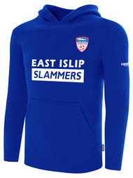 EAST ISLIP SLAMMERS FLEECE PULLOVER HOODIE -- ROYAL BLUE WHITE