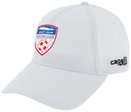 EAST ISLIP SLAMMERS CS II TEAM BASEBALL CAP -- WHITE BLACK