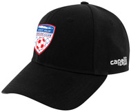 EAST ISLIP SLAMMERS CS II TEAM BASEBALL CAP -- BLACK WHITE