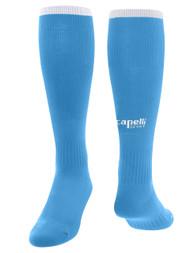 CPSC GOALKEEPER MATCH  SOCKS --  SKY BLUE WHITE