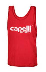 785f7ec2eeb9 PAL CAPELLI SPORT PRACTICE PINNIE--RED