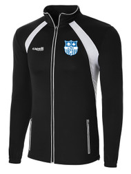 BRAVO RAVEN  TRAINING JACKET  --  BLACK WHITE